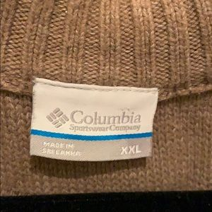 XXL Columbia 1/4 zip sweater ready for fall/winter